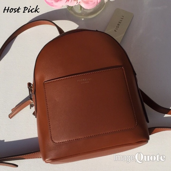 🌷Host Pick🌷New Fiorelli Tan Anouk Small Backpack